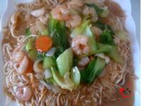 家庭版海鮮廣式炒麵