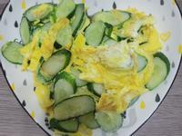 小黃瓜煎蛋