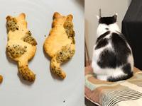 氣炸牛奶貓咪餅乾-無蛋厚奶(親子烘焙)