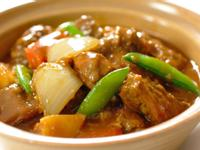 咖哩馬鈴薯燉牛腩飯
