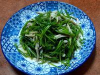 水蓮炒杏鮑菇