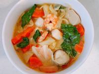 南洋蔬菜海鮮咖哩