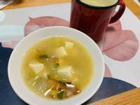 柴魚豆腐味噌湯