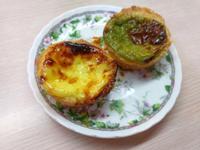 酥皮葡式蛋塔(原味&抹茶)(水波爐)