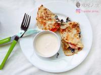 🧁吃吃人生 │雞肉乳酪蔬菜捲餅│早午餐
