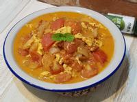 義式輕燉紅茄芙蓉(義式蕃茄炒蛋)