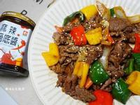 懶人廚房料理(1) ▶ [麻辣醬炒牛肉]