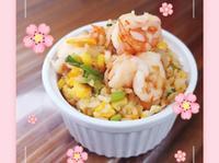 蝦仁蛋炒飯(零失敗)海鮮 雞蛋 快炒玉米