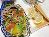 防疫宅料理~~泰式檸檬魚露牛肉拌麵