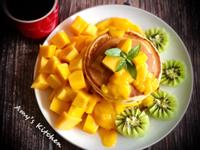 早午餐-芒果鬆餅