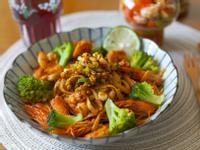 泰式酸辣鮮蝦義大利麵