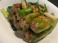 虎皮青椒釀肉