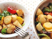 [阿妮塔♥yummy] 輕盈蔬食烤綜合蔬菜。
