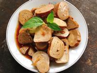 簡單快速料理:涼拌素雞/涼拌豆雞