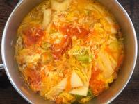 番茄蔬菜蛋花湯