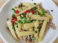 玉米筍肉片