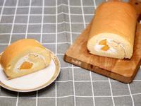 芒果生乳捲(燙麵法減糖配方)