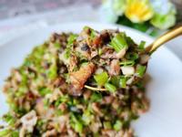 菜丁拌鯖魚
