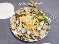 白醬蛤蜊義大利麵