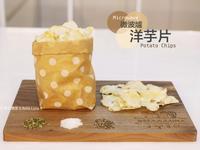 微波爐酥脆洋芋片- 自製低卡無油唰嘴零食