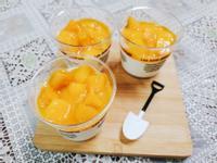 芒果鮮奶酪(非素食)