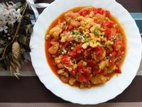 【雞蛋料理】番茄蝦仁炒蛋