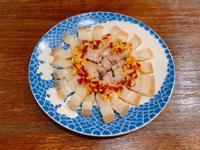 黑白切小吃攤《蒜泥白肉》電鍋料理