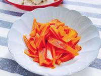 [清爽小菜] 蜂蜜漬紅蘿蔔