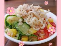 泰式涼拌泡麵(簡單煮)沙拉夏天懶人煮簡單