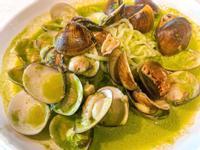 (簡易版)青醬蛤蜊蒟蒻麵