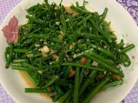 豆腐乳炒龍鬚菜