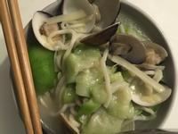 絲瓜蛤蜊麵線 #魔力家快煮鍋