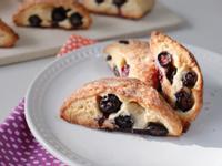 清新口味♪美美的三角藍莓司康/英式鬆餅