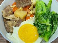 蒜頭馬鈴薯燉肉