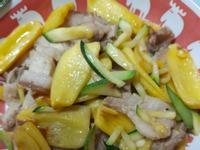 波羅蜜炒五花肉
