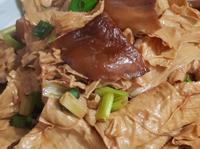 蔥燒香菇炒腐竹