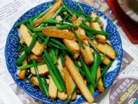韭菜花炒豆干