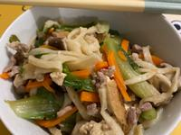 炒鱈魚香絲麵