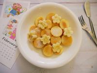 電烤盤「蜂蜜小鬆餅」一口一個很剛好!!