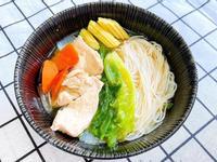 [好市多食材] 快速鰹魚風味蔬菜雞肉麵線