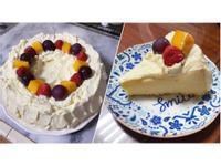 生日蛋糕(奶油戚風蛋糕)