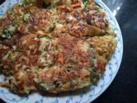 高麗菜煎餠~營養滿分早午餐