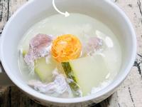 冬瓜鹹蛋肉片湯