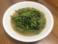 味噌炒空心菜