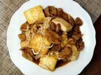 土豆麵筋燒豆腐