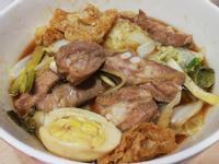 蔥薑大白菜燜豬軟骨