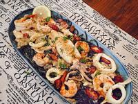 海鮮墨魚麵🦐