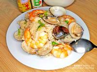 日式海鮮燉飯|剩飯變身|簡易料裡