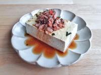 明太子鮪魚涼拌豆腐 (中華鹽滷豆腐)