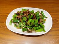 豆豉青龍炒魚乾 (簡單家常下酒菜)